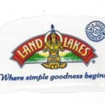 Land of Lakes sign