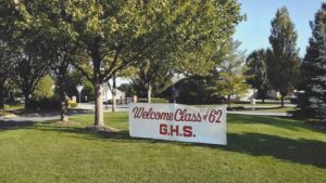 class of 62 sign
