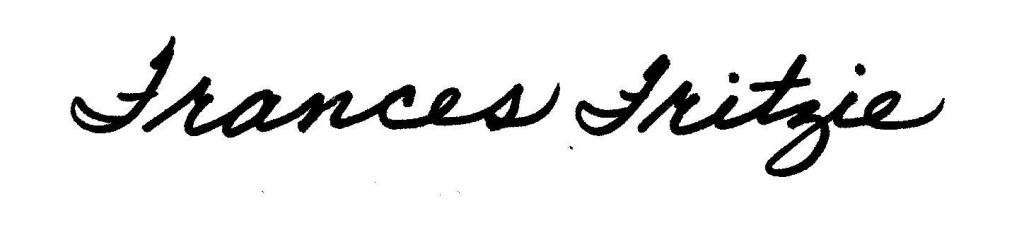 Frances signature