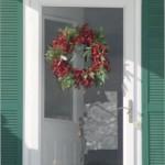 Carol's front door