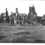 St. Lo, after the bombing.