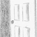 June's door