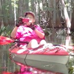 Sandy photographs a friend while recently kayaking in Florida.