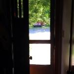 Palma's open door.