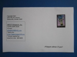 March 2015 paper Ninepatch used Batman stamps.