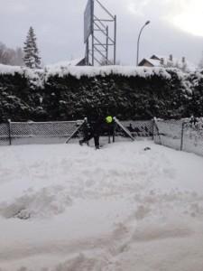 Fresh Switzerland snow
