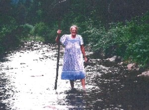 Sandy in 2002, North of Helena, Montana