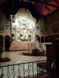 Basilica's altar