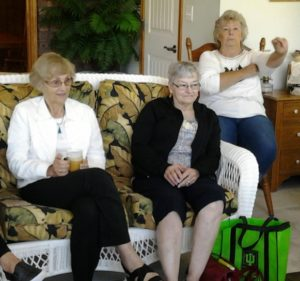 L to R: Alice, Sandy B. and Peggy