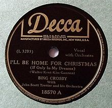 Decca album label image used without permission
