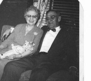 Left: Gramma Elizabeth about 1954