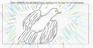 LindaSue's white bird