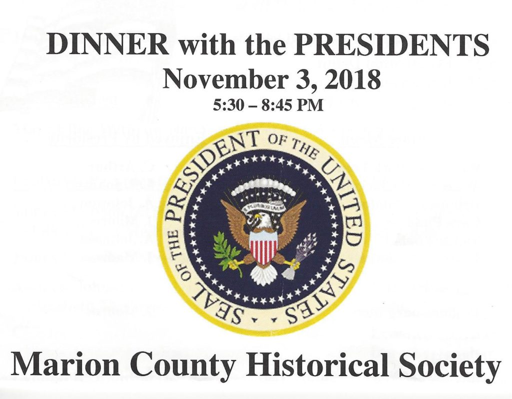 Dinner with the Presidents banner
