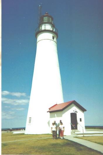 At Fort Gratiot Light Station